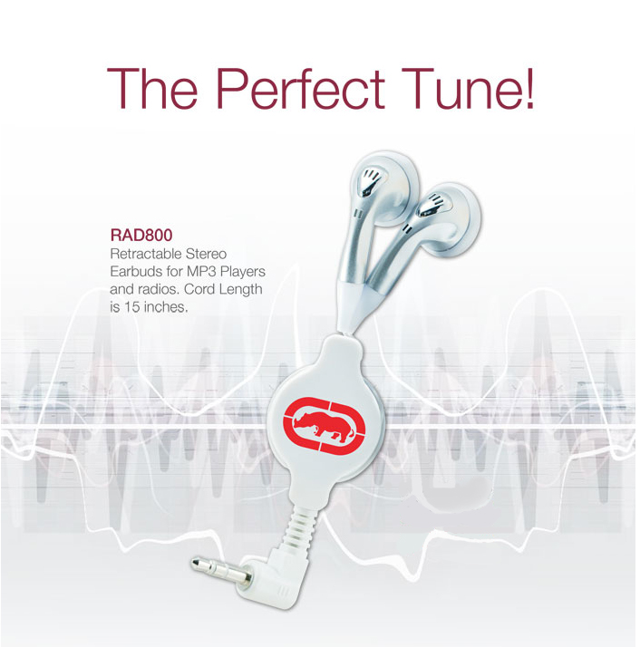 RAD800 earbuds promotional products